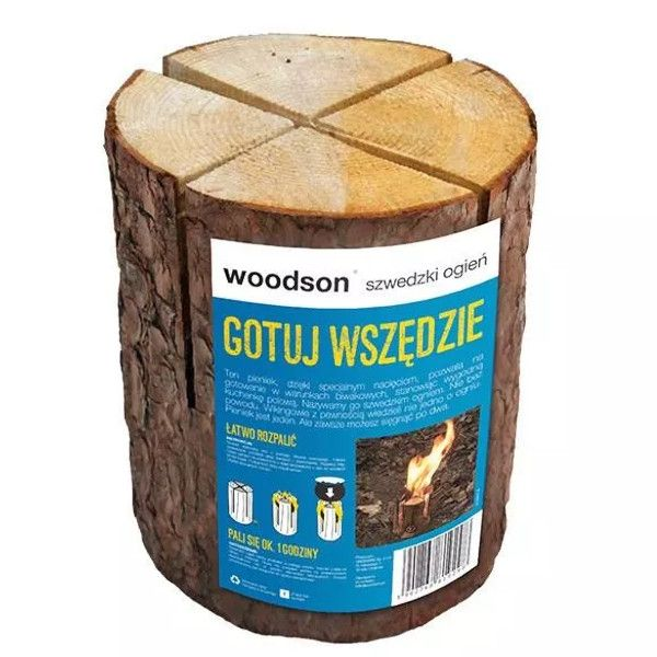 """Pieniek Drewniany  """"Szwedzki Ogień"""""""