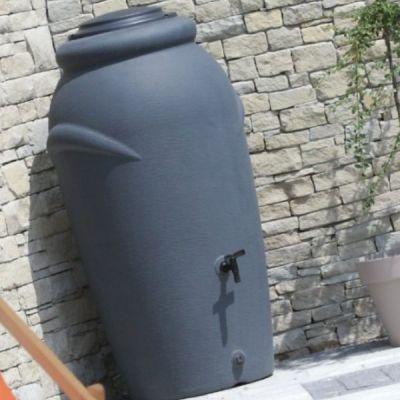 Pojemnik na deszczówkę 210L ANTRACYT  - Stonesgarden.pl®