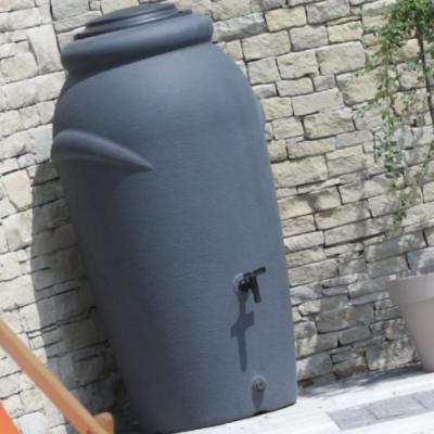 Pojemnik na deszczówkę 210L SZARY