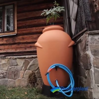 Pojemnik na deszczówkę 360L CEGŁA  - Stonesgarden.pl®