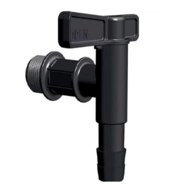Kran do deszczówki ITAP1-S411 CZARNY⭐ - StonesGarden.pl ®
