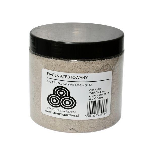 ✅Słoik Piasek Atestowany - stonesgarden.pl ®