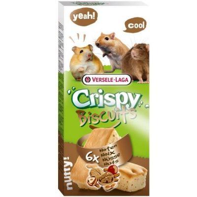 ✅VL-Crispy Biscuit Nuts 70g - Ciasteczka Orzechowe Dla Gryzoni (6 sztuk) - Stonesgarden.pl®