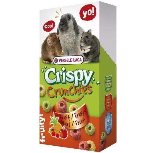 ✅VL-Crispy Crunchies Fruit 75g - Chrupiący Przysmak Z Owocami Dla Królików I Gryzoni- Stonesgarden.pl®