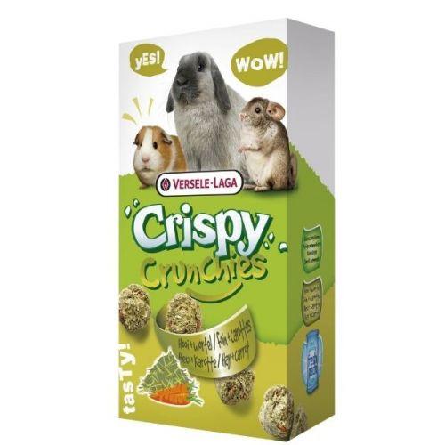 ✅VL-Crispy Crunchies Hay 75g - Chrupiący przysmak z siankiem dla królików i gryzoni- Stonesgarden.pl®