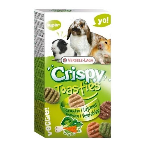 ✅VL-Crispy Toasties Vegetables 150g - Ciasteczka Warzywne Dla Gryzoni- Stonesgarden.pl®