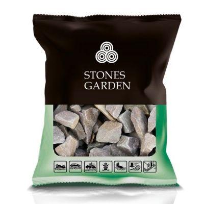 Kamień Brzoskwiniowy Grys do ogrodu 70-150 mm - stonesgarden.pl ®