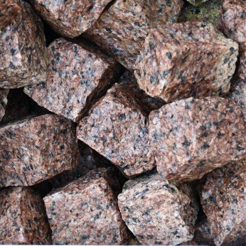 Kostka Granitowa Czerwona 4x6 cm-Stonesgarden.pl