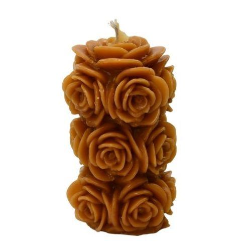 Świeca z Wosku Pszczelego Kwiatek