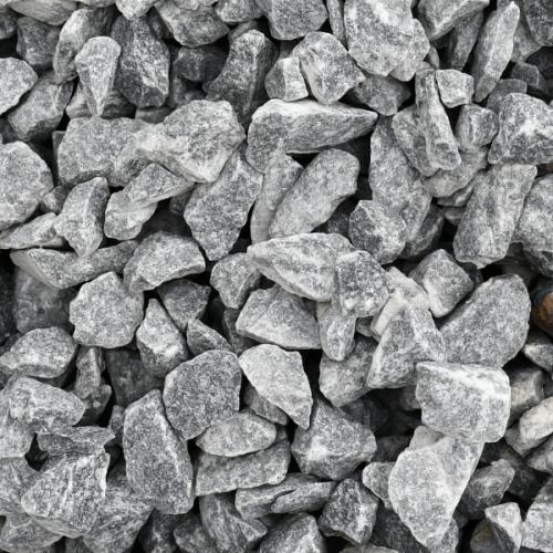 kamień srebrno szary