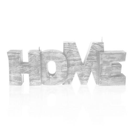 Świeca Dekoracyjna Napis Home