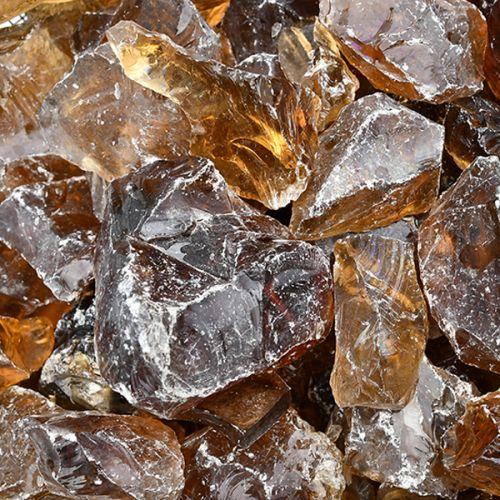 Szkło Amber Grys 80-120 mm