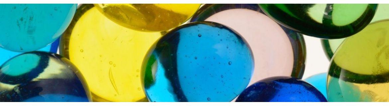 Szklane kamienie, otoczak szklany - StonesGarden